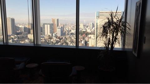 おしゃれな品川オフィスからの景色