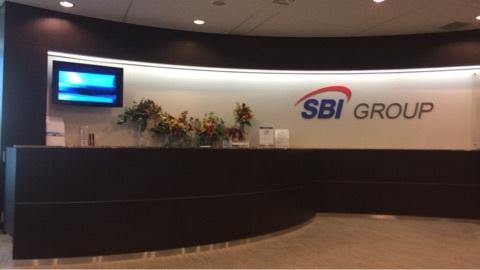 SBI証券本社フロント