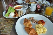 マリーナベイサンズ世界の朝食