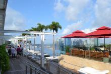 マリーナベイサンズの屋上プール2